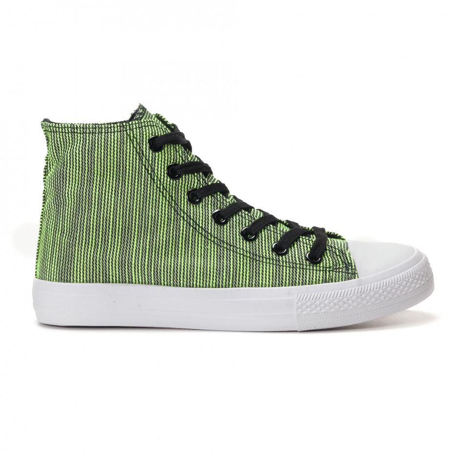 Ανδρικά πράσινα sneakers Mondo Naturale it250118-15