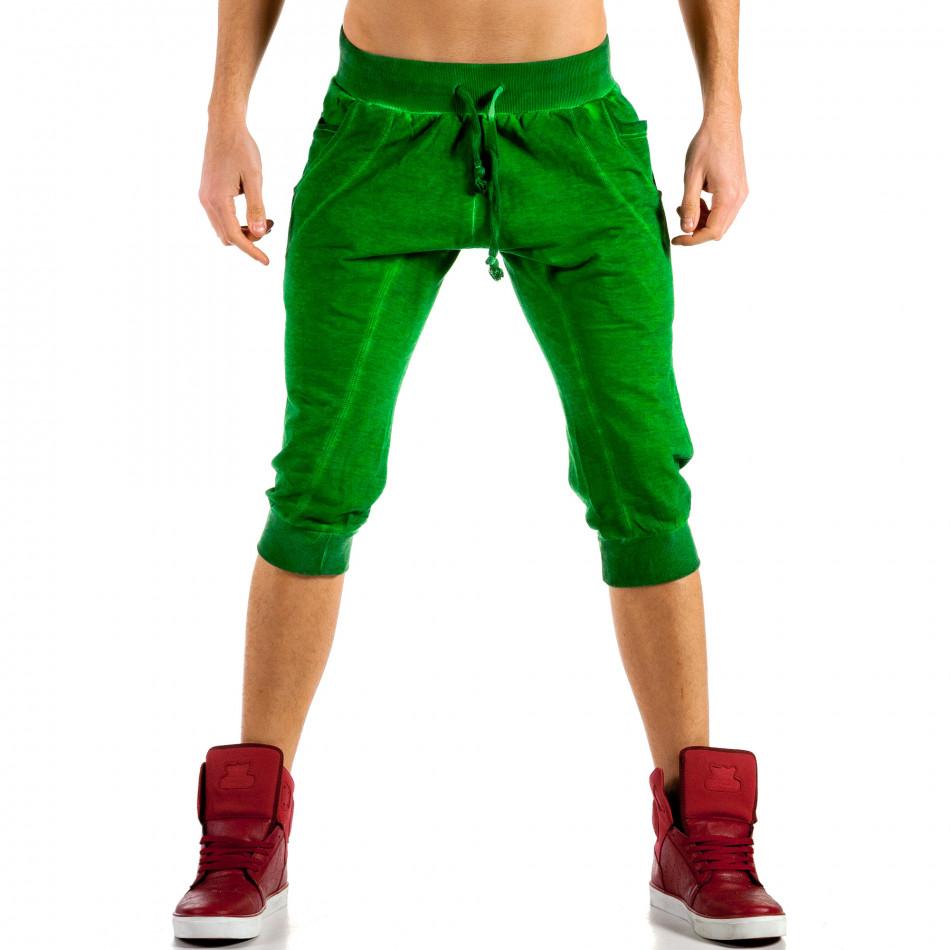 Ανδρικό πράσινο σορτς Belman ca100514-16