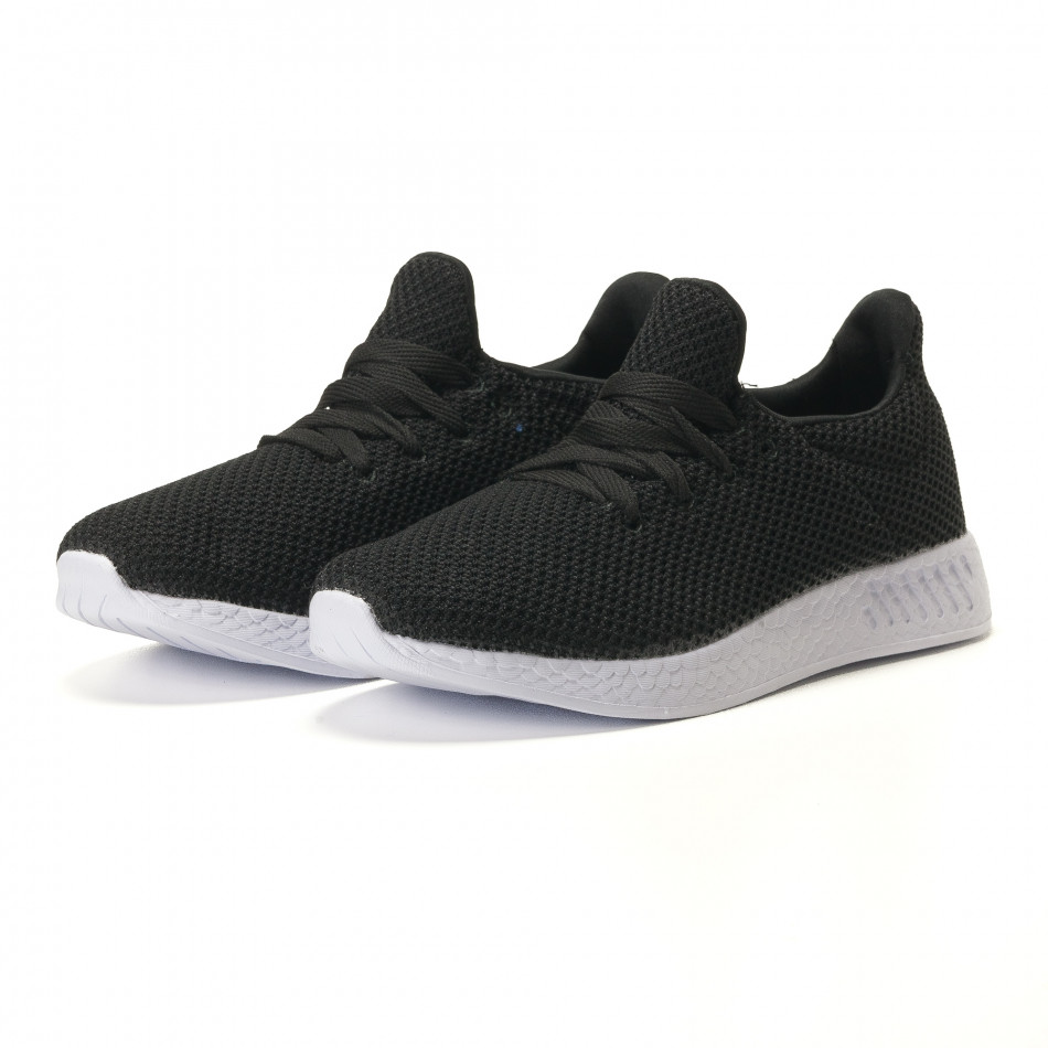 c66f2c46b65 Ανδρικά μαύρα αθλητικά παπούτσια Naban it100317-7 - Fashionmix.gr