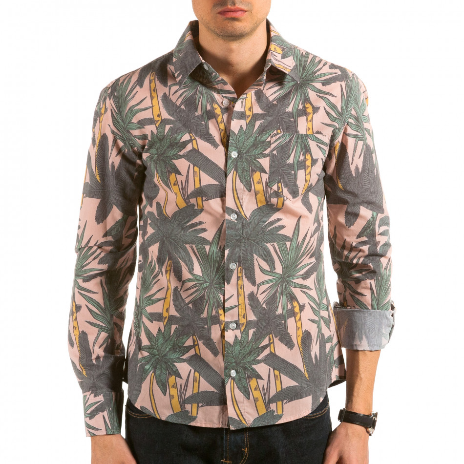 Ανδρικό πολύχρωμο πουκάμισο Catch il180215-187