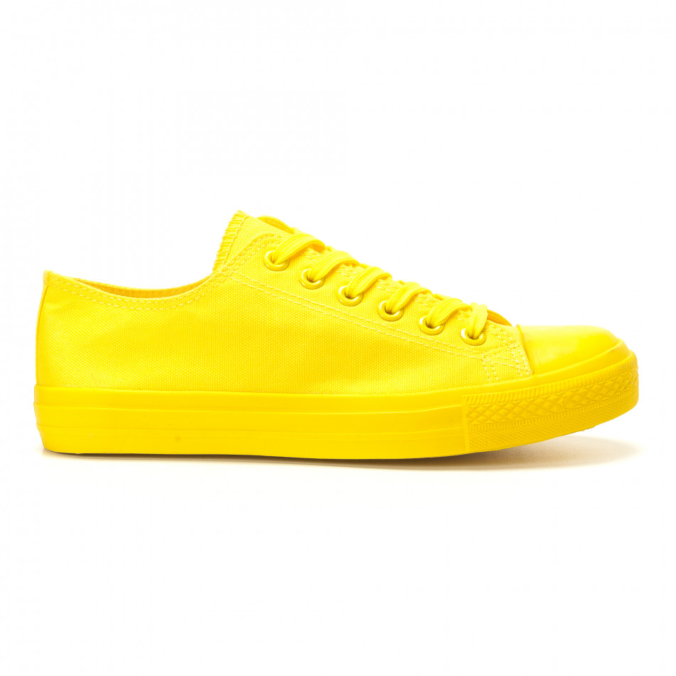 Ανδρικά κίτρινα sneakers Bella Comoda it260117-39