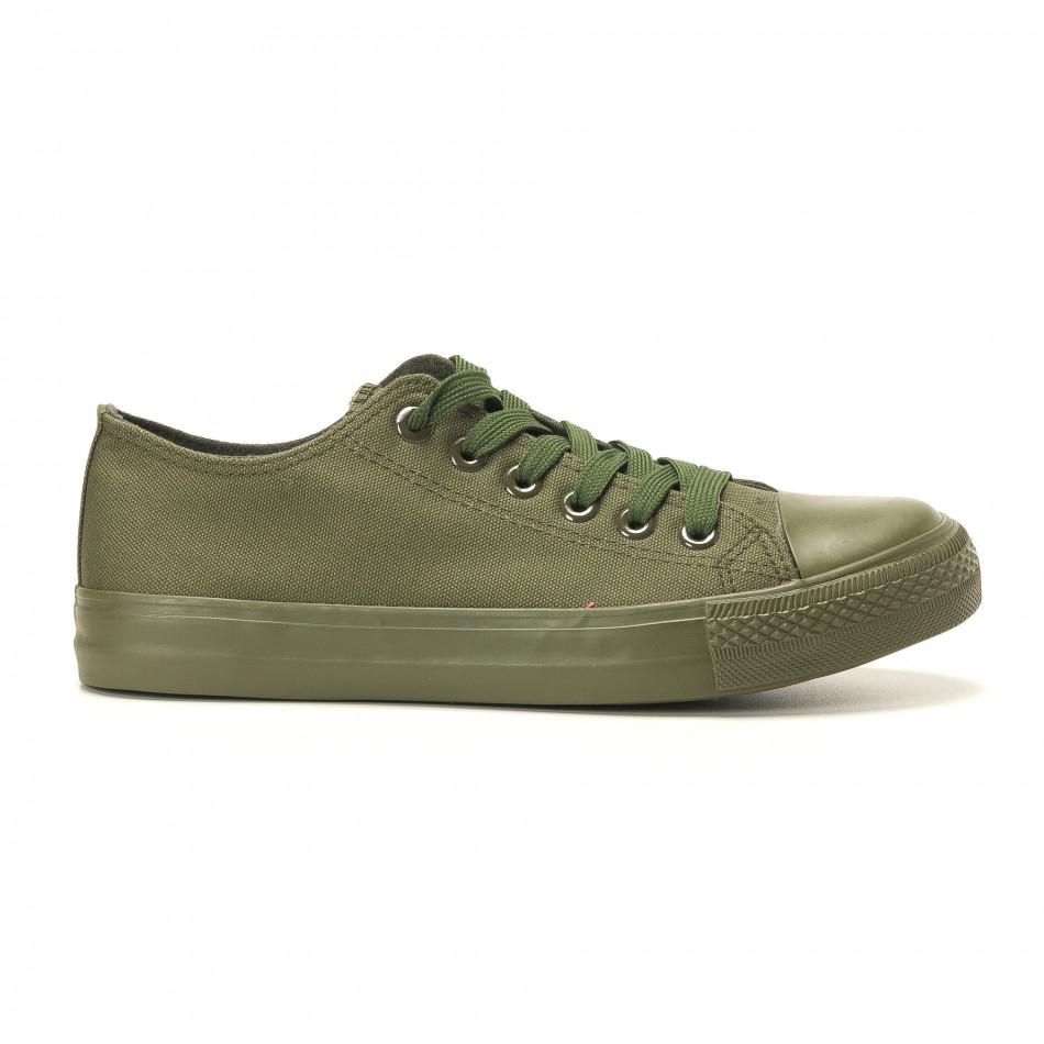 Ανδρικά πράσινα sneakers Osly it260117-33