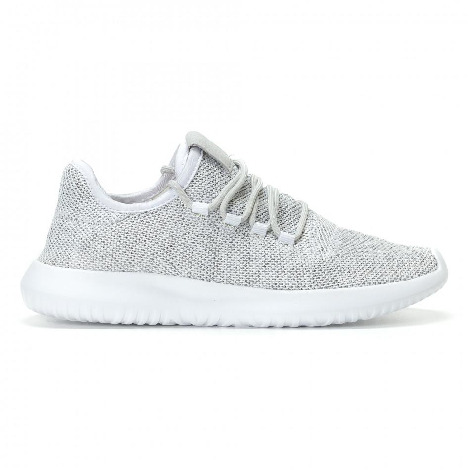 Ανδρικά λευκά αθλητικά παπούτσια Kiss GoGo it110817-71