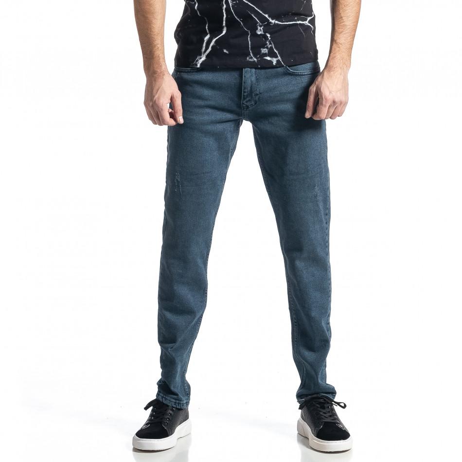 Ανδρικό μπλε τζιν Long Slim tr010221-31