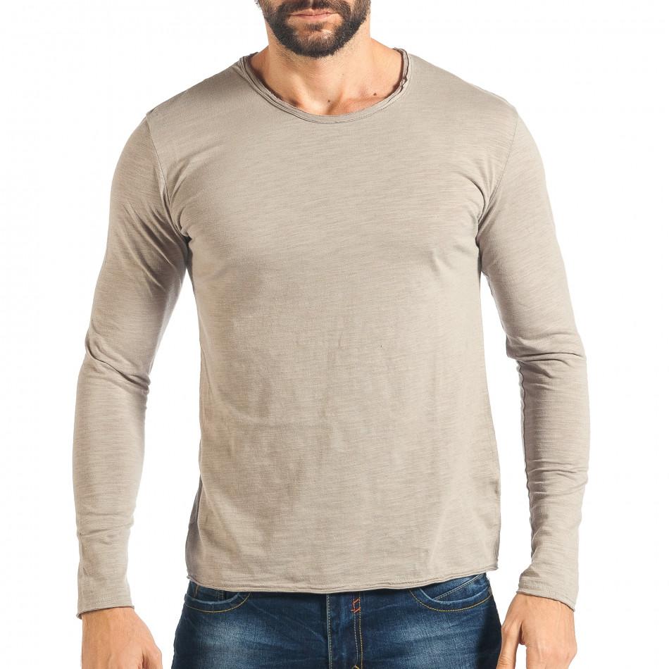 Ανδρική γκρι μπλούζα Y-Two it301017-95 - Fashionmix.gr 37d9a0fe68f