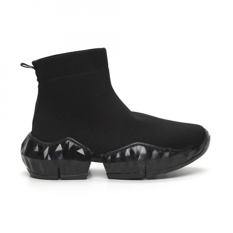 Еυέλικτα γυναικεία αθλητικά παπούτσια τύπου κάλτσα it260919-61