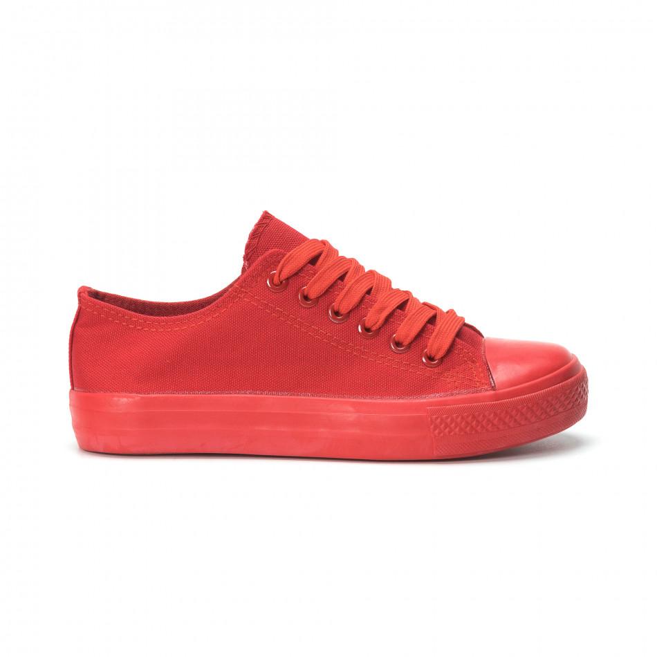 Γυναικεία κόκκινα sneakers it250119-74