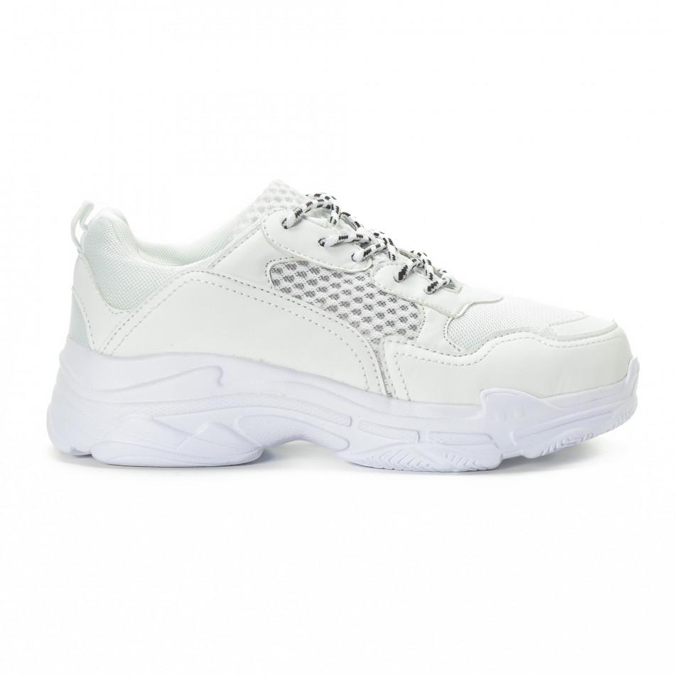 Ανδρικά λευκά αθλητικά παπούτσια All white it221018-39