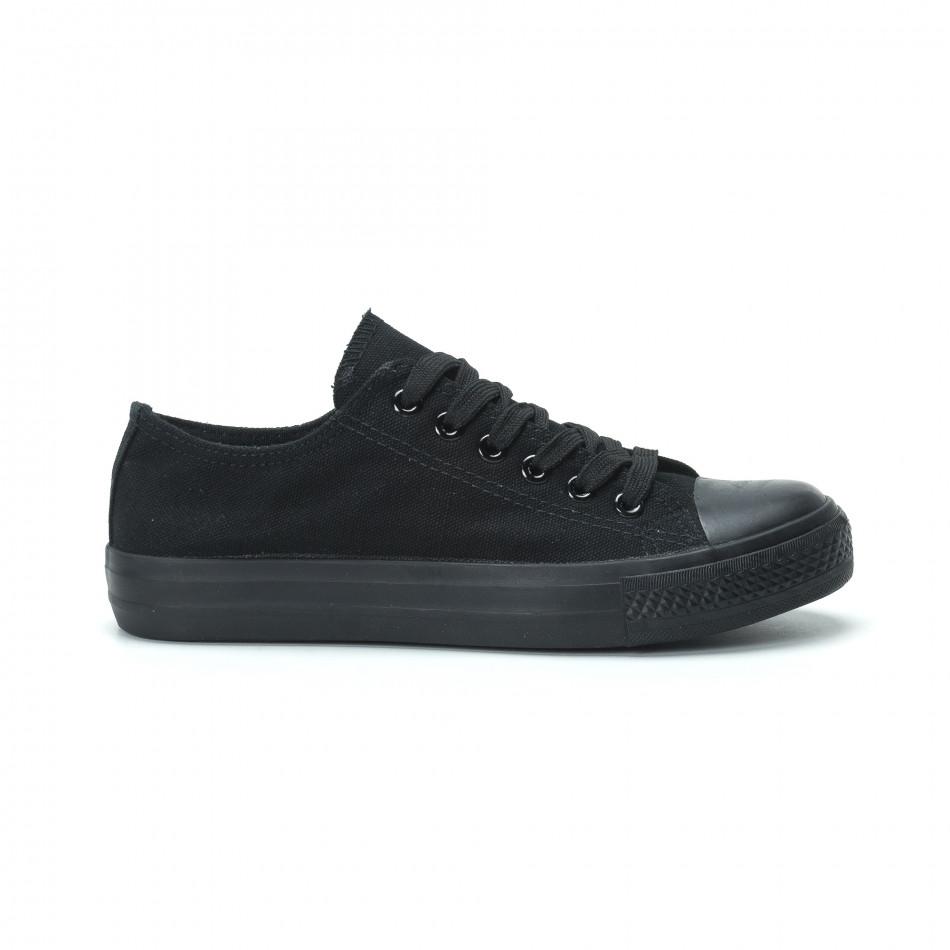 Γυναικεία μαύρα sneakers it250119-75