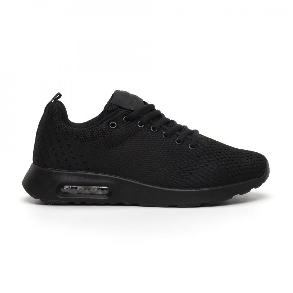 Ανδρικά μαύρα αθλητικά παπούτσια Kiss GoGo it291117-15
