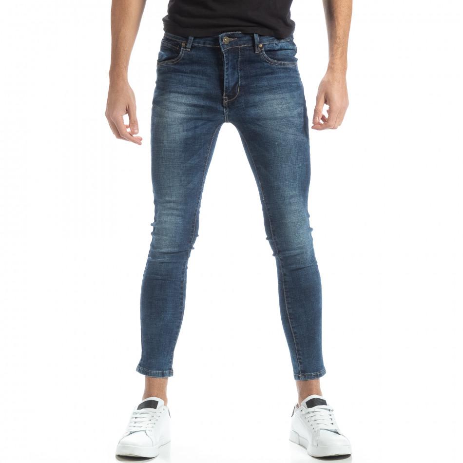 Ανδρικό μπλε τζιν Skinny it051218-1
