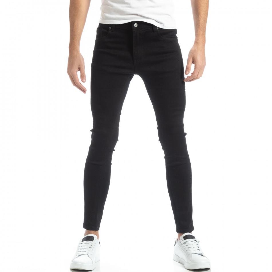 Ανδρικό μαύρο τζιν Basic Skinny it051218-4