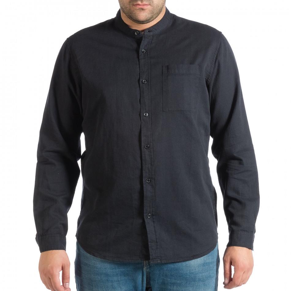 Ανδρικό γαλάζιο πουκάμισο RESERVED lp290918-179