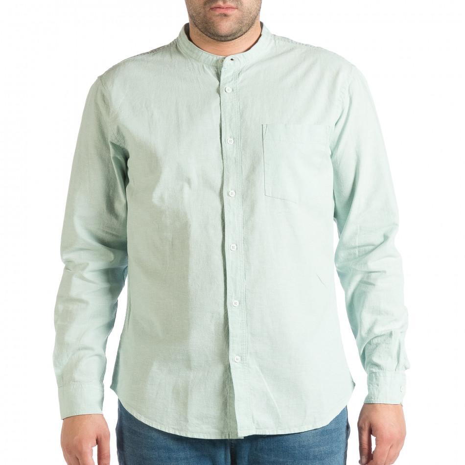 Ανδρικό πράσινο πουκάμισο RESERVED lp290918-181
