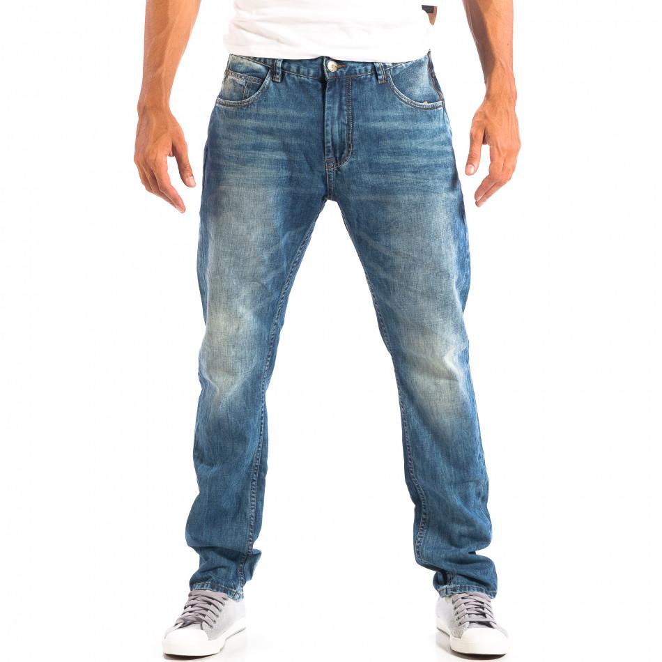 Ανδρικό γαλάζιο τζιν House lp060818-52
