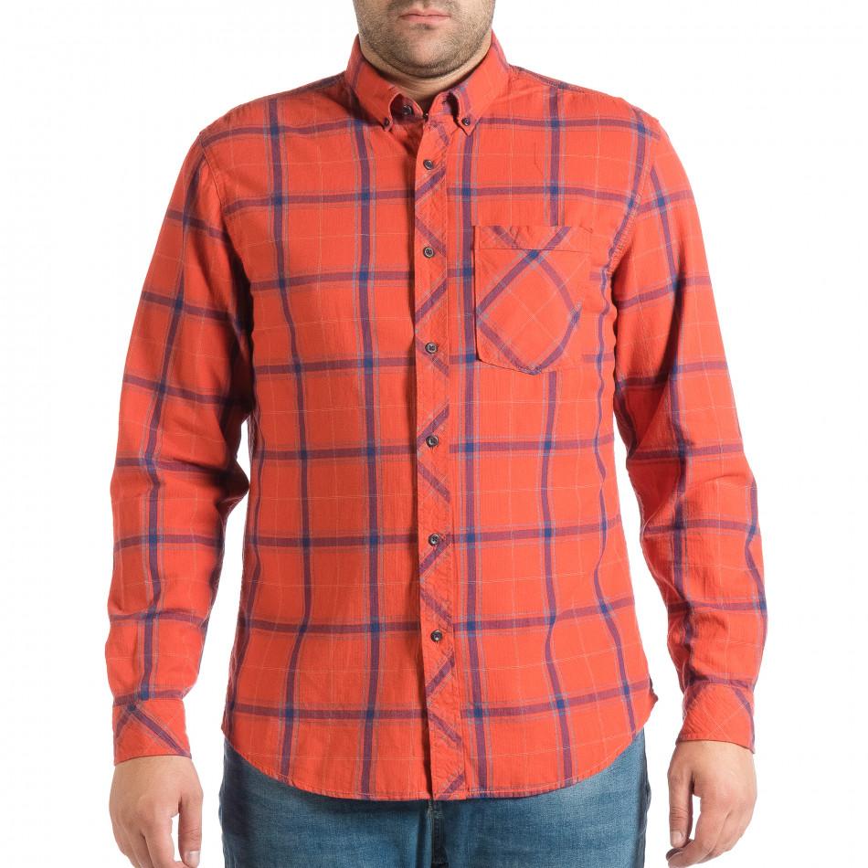 Ανδρικό κόκκινο πουκάμισο RESERVED lp290918-172