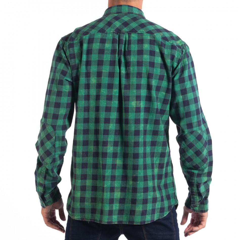 Φόρτωση · Ανδρικό πράσινο καρέ πουκάμισο Regular fit RESERVED lp070818-114  2 Ανδρικό πράσινο καρέ πουκάμισο Regular fit RESERVED lp070818-114 3 af6eb5f0283
