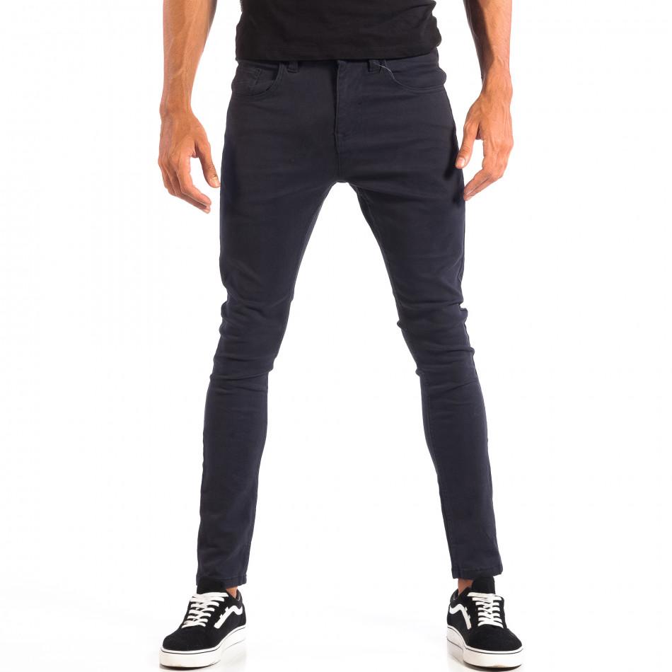 Ανδρικό γαλάζιο παντελόνι CROPP lp060818-89