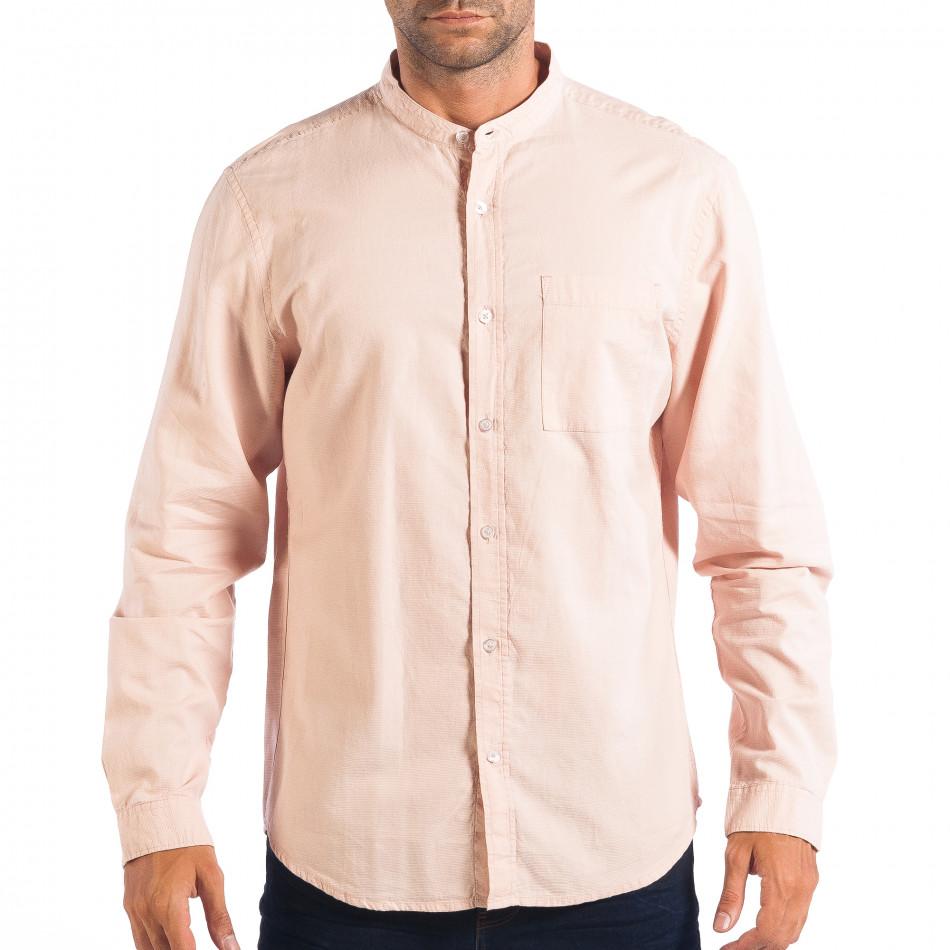 Ανδρικό ροζ πουκάμισο Regular fit RESERVED lp070818-124