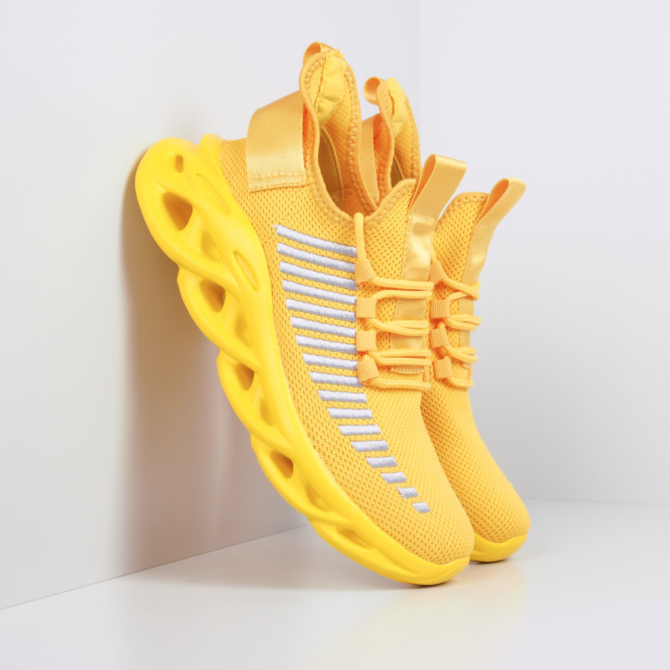 Ανδρικά κίτρινα αθλητικά παπούτσια Rogue  it281119-3