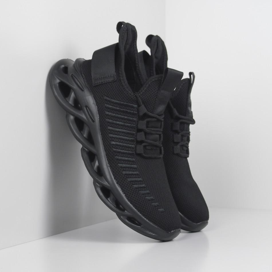 Ανδρικά αθλητικά παπούτσια Rogue All black it281119-4