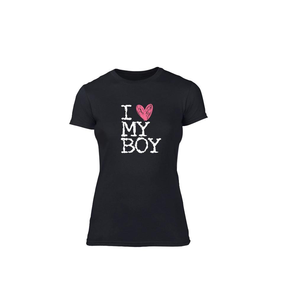 Γυναικεία Μπλούζα Love My Girl Love My Boy μαύρο L TMNLPF027L