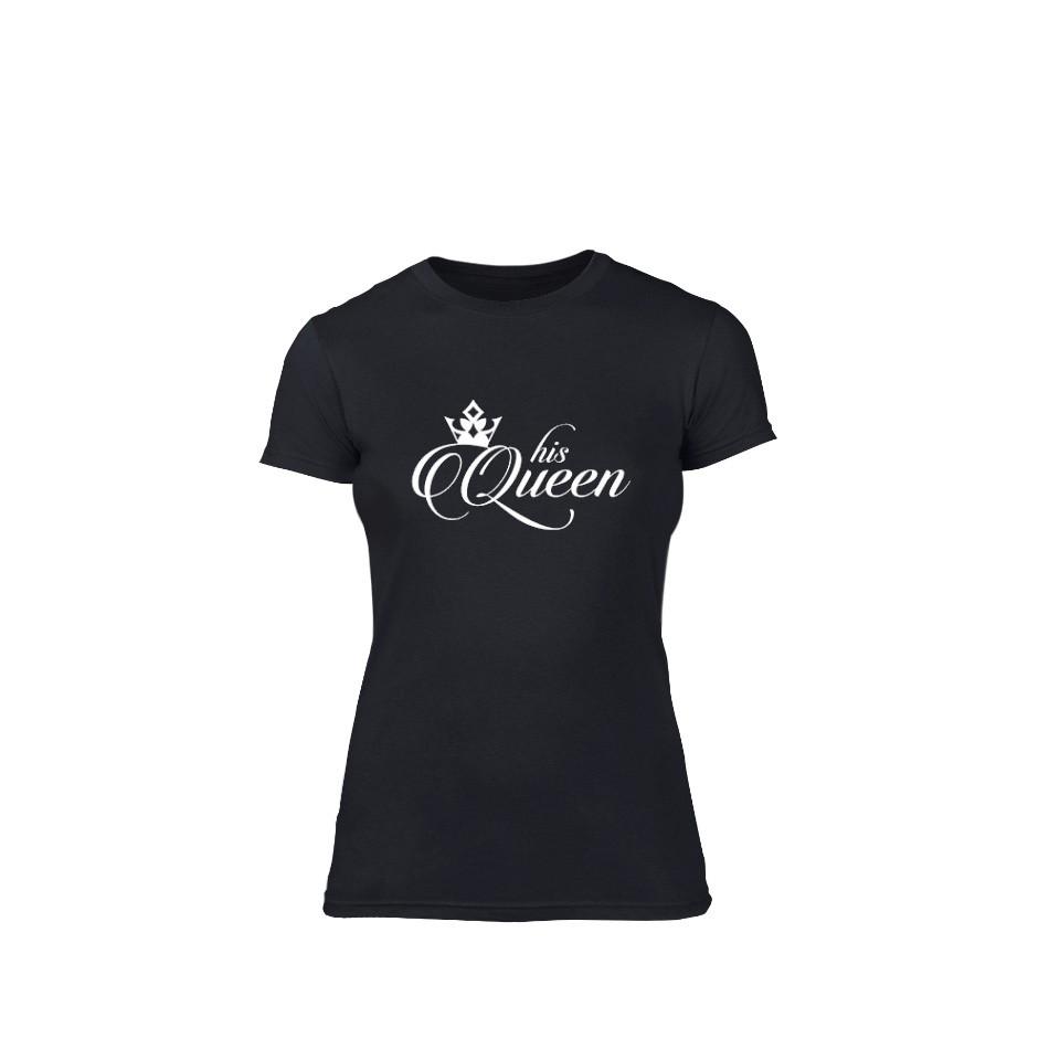 Γυναικεία Μπλούζα His queen μαύρο Χρώμα Μέγεθος XL TMNLPF014XL