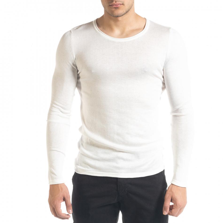 Ανδρική λευκή μπλούζα Lagos tr240420-13