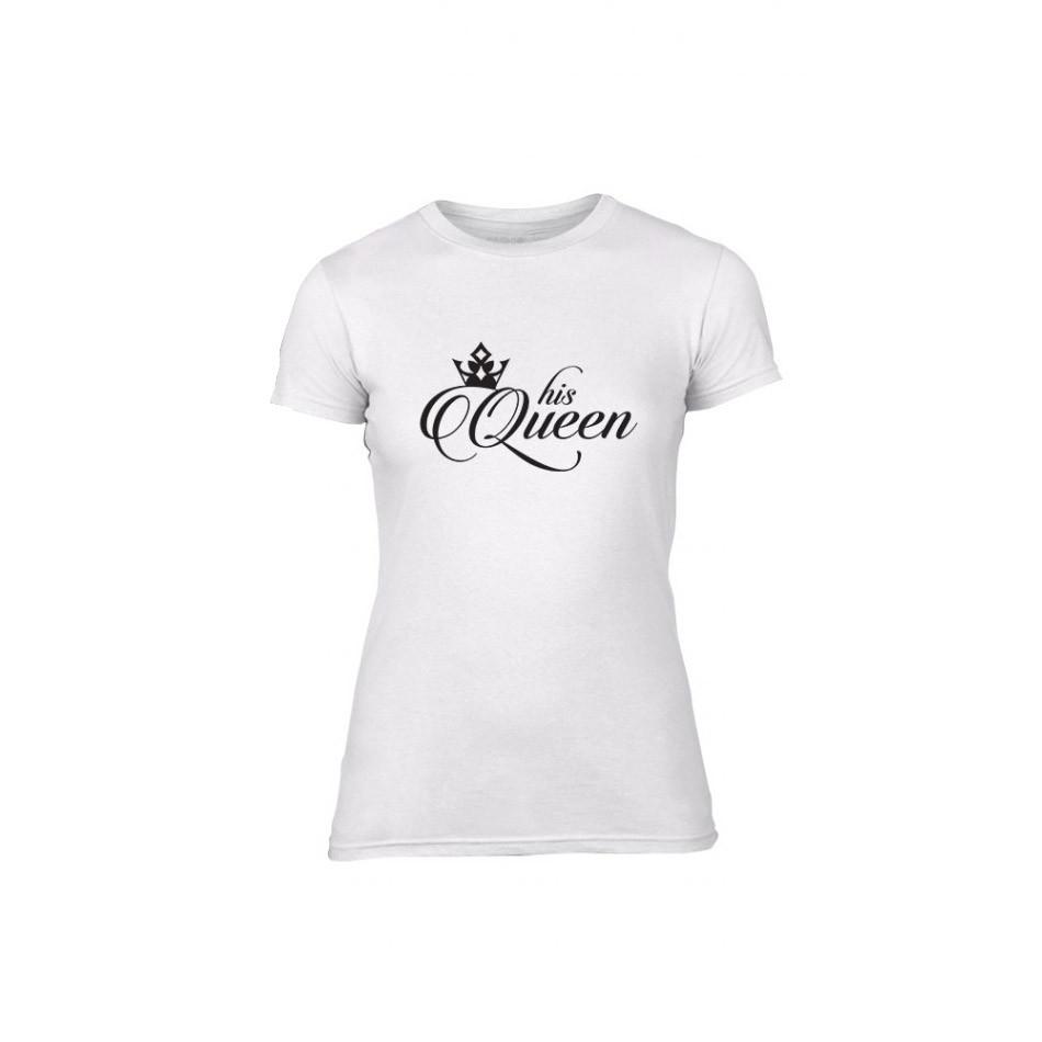 Γυναικεία Μπλούζα King & Queen λευκό Χρώμα Μέγεθος L TMNLPF013L