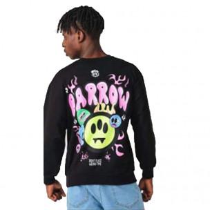 Ανδρική μαύρη μπλούζα Emoticon 2