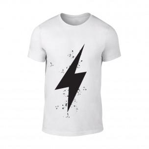 Κοντομάνικη μπλούζα Thunder λευκό