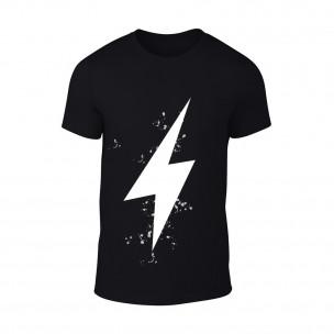 Κοντομάνικη μπλούζα Thunder μαύρο