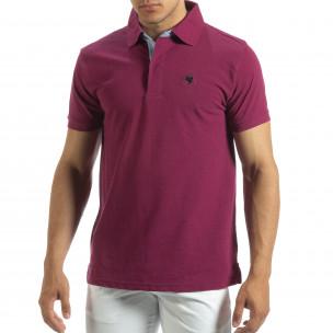 Ανδρική κόκκινη  polo shirt