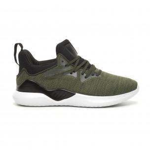 Ανδρικά πράσινα αθλητικά παπούτσια Kiss GoGo Kiss GoGo