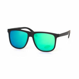 Ανδρικά πράσινα-γαλάζια γυαλιά ηλίου Traveler
