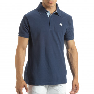 Ανδρική μπλέ  polo shirt  Gianfranco Buroni