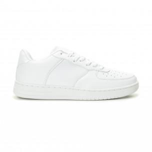Ανδρικά λευκά sneakers skater μοντέλο