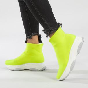 Γυναικεία πράσινα αθλητικά παπούτσια Bellamica
