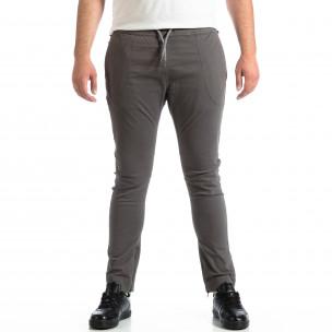 Ανδρικό γκρι παντελόνι CROPP