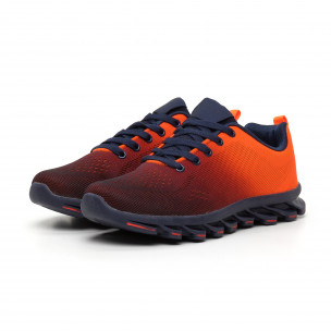 Ανδρικά πορτοκαλί νέον αθλητικά παπούτσια Blade 2