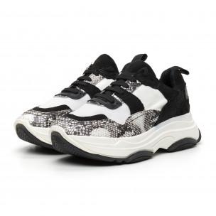 Γυναικεία αθλητικά παπούτσια Chunky design 2