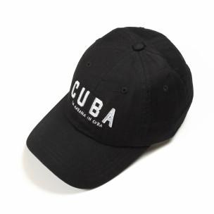 Μαύρο καπέλο Cuba