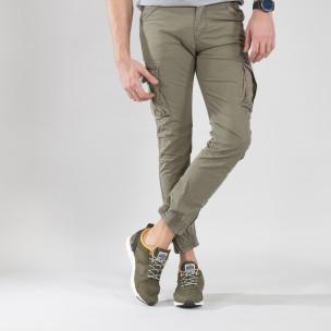 Ανδρικά πράσινα αθλητικά παπούτσια Montefiori Montefiori