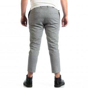Ανδρικό γκρι παντελόνι RESERVED  2