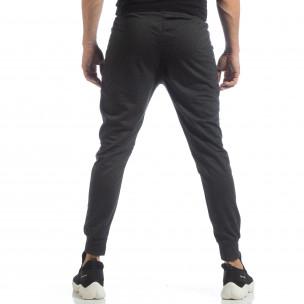Ανδρικό Jogger Biker σε σκούρο γκρι χρώμα 2