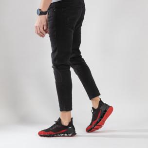 Ανδρικά κόκκινα αθλητικά παπούτσια Reeca Reeca