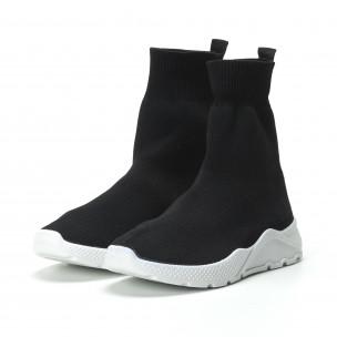 Basic Slip-on γυναικεία μαύρα sneakers  2