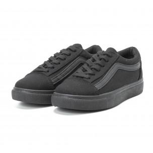 Γυναικεία μαύρα sneakers Old Skool All Black  2