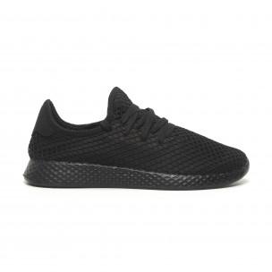 ce77b158941 Ανδρικά μαύρα αθλητικά παπούτσια Mesh ελαφρύ μοντέλο ...