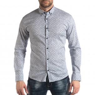 Ανδρικό λευκό πουκάμισο Baros
